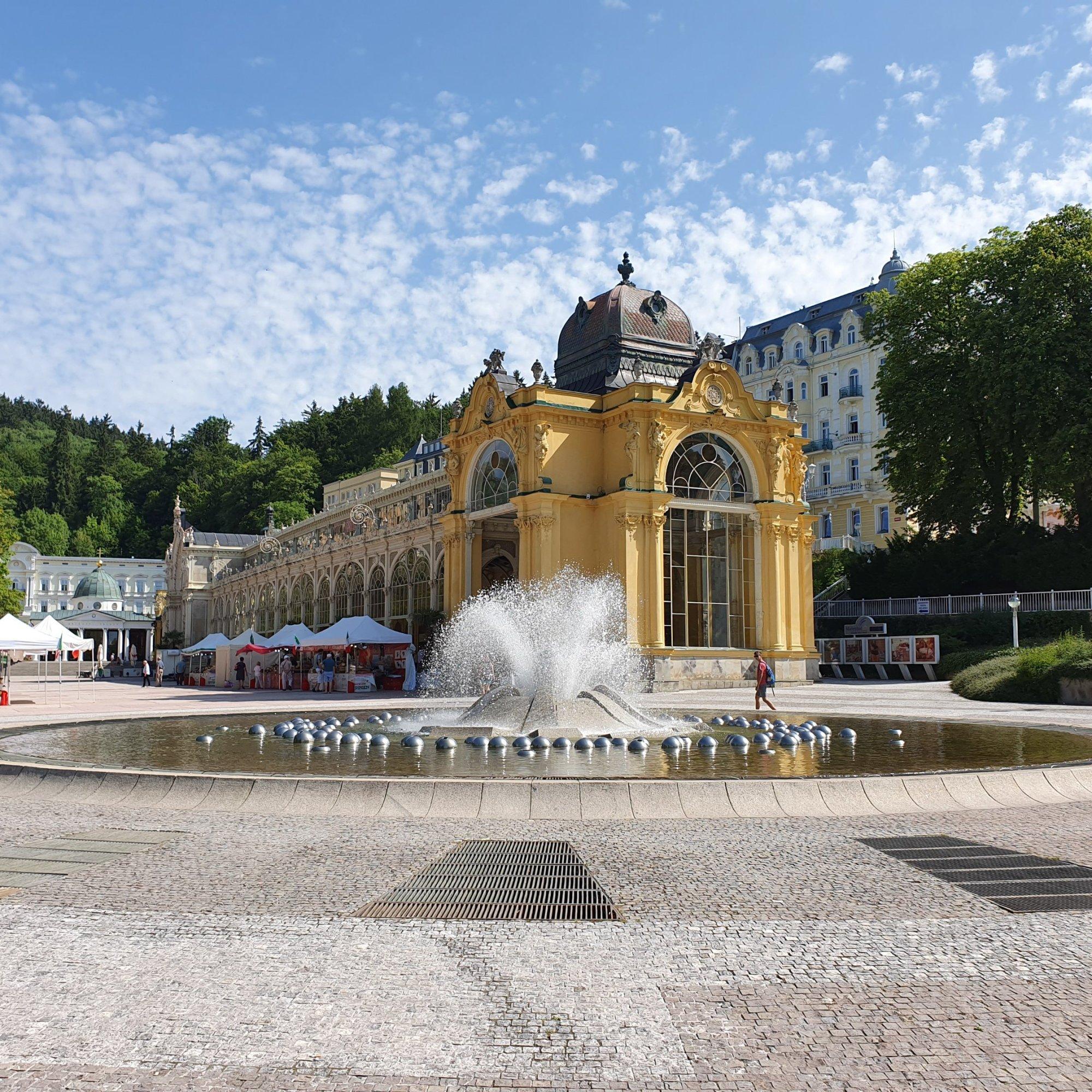 Singing Fountain - Zpívající fontána